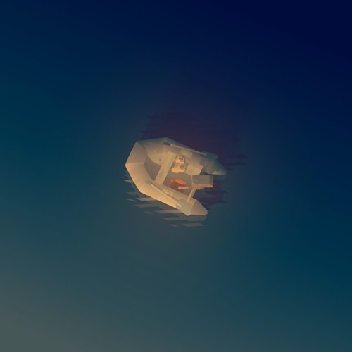 The album art for the score to indie video game Kentucky Route Zero: Act IV
