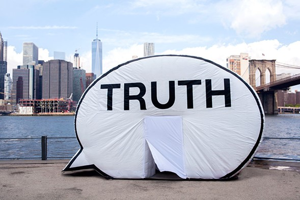 The Truth Booth, on tour - BEN PETTEY