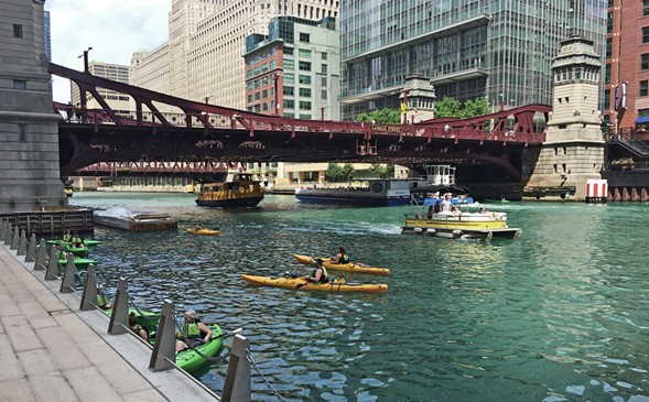 The Chicago River - MARK BROWN/SUN-TIMES