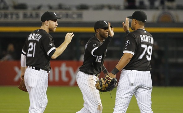 The Chicago White Sox play an August game at U.S. Cellular Field, which as of November will be named after a Chicago-based mortgage firm. - AP PHOTO/CHARLES REX ARBOGAST