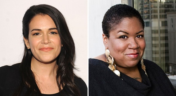 Abbi Jacobson and Samantha Irby - BRAD BARKET; EVA BLUE