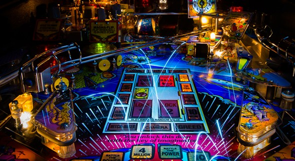 "Rob Karlic's Twilight Zone is part of the group exhibition ""Skillshot: The Collaborative Art of Pinball."" - ROB KARLIC"
