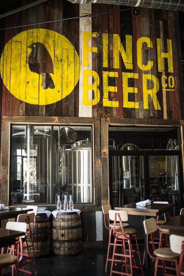 COURTESY FINCH BEER CO. & KITCHEN
