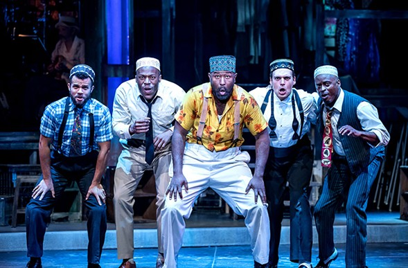 Smokey Joe's Cafe, at Drury Lane - BRETT BEINER