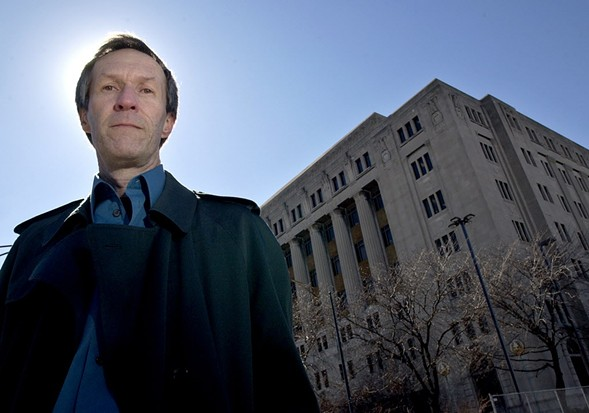 Bogira in 2005, after the publication of Courtroom 302 - RICHARD A. CHAPMAN/SUN-TIMES