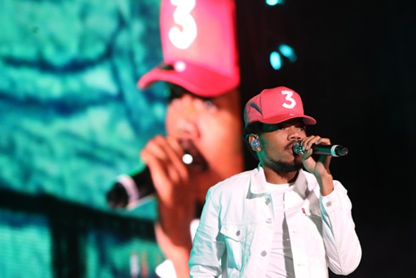 Chance the Rapper's generous spirit defined the day. - MORGAN ELISE JOHNSON