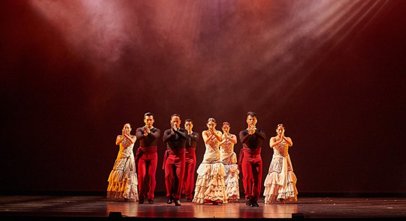 Ensemble Español performs Flamenco Passion on Thu 9/29. - DEAN PAUL/IROKO