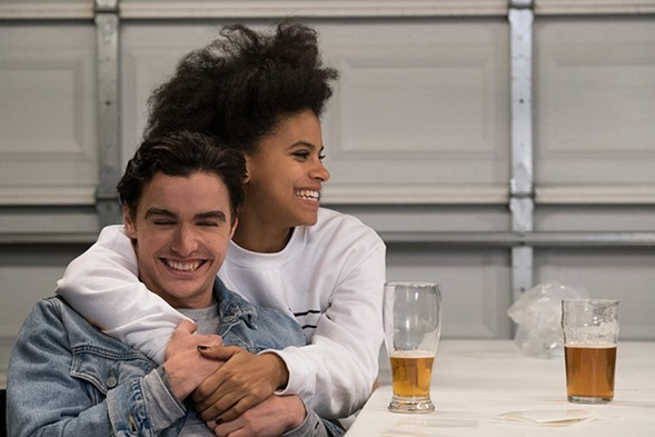 Dave Franco and Zazie Beetz drinking their homebrew in Easy. - ZAC HAHN/NETFLIX