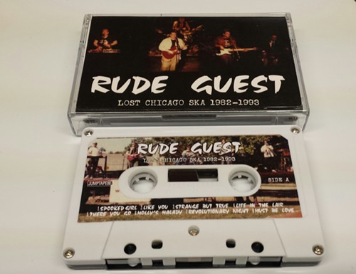 Jump Up Records' Rude Guest cassette - CHUCK WREN