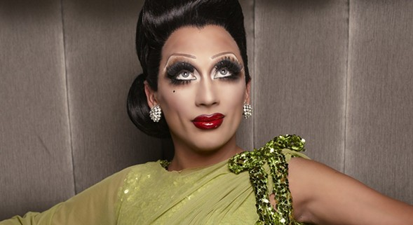 "Bianca Del Rio talks about becoming ""gay famous"" during her show on Sun 10/9. - MEGAN HASTINGS"