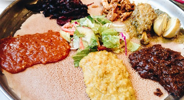 Enjoy African cuisine from Demera Ethiopian Restaurant at Taste of Uptown on Wed 10/12. - RAUL PACHECO-VEGA