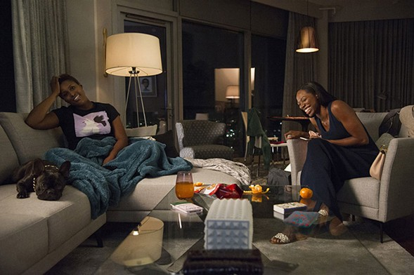 Issa Rae and Yvonne Orji navigate their personal and professional lives together in Insecure. - ANNE MARIE FOX/HBO