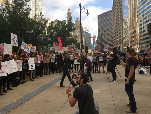 The protest continues - AIMEE LEVITT