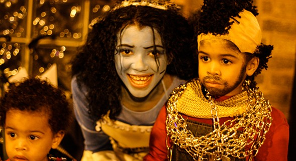 Ghouls and goblins take over Millennium Park for the Halloween Gathering Festival on Sat 10/22. - MELODY JOY KRAMER