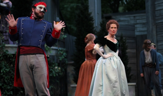 APT's 2014 production of Much Ado About Nothing - AMERICAN PLAYERS THEATRE