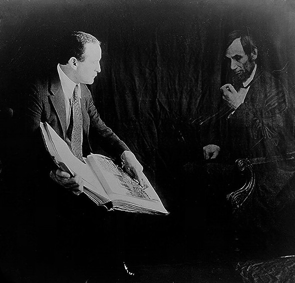 Houdini and the ghost of Abraham Lincoln - LIBRARY OF CONGRESS