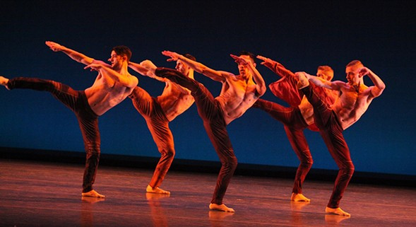 Giordano Dance Chicago performs at Harris Theater this weekend. - GORMAN COOK