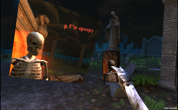 Play Spooky Selfie at the video game-themed Halloween party Little Bash of Horrors.