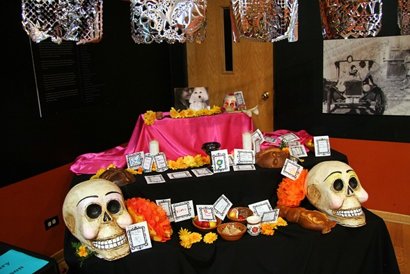 Celebrate Day of the Dead at the National Museum of Mexican Art on Sun 10/30. - MARIA CAMPOS-VERA