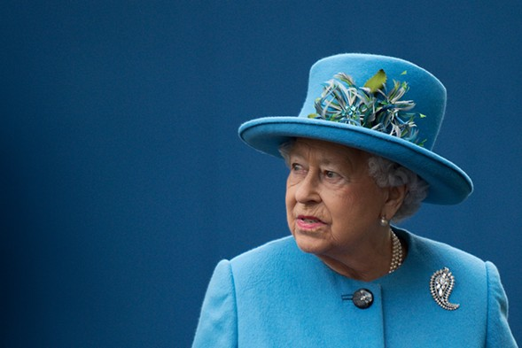 Queen Elizabeth II. Maybe it's not too late to rethink this whole independence thing. - GETTY IMAGES