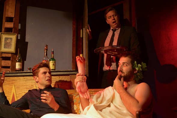 Murder on Mount Olympus, at Public House Theatre - BYRON HATFIELD