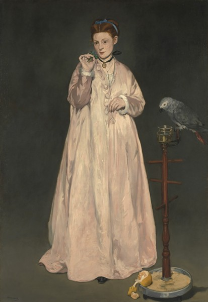 Édouard Manet, Young Lady in 1866 - COURTESY METROPOLITAN MUSEUM OF ART