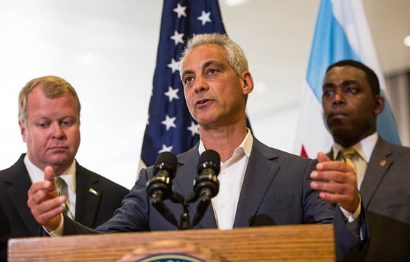 Rahm Calls Out Rauner, Trump As Budget Sails Through City Council
