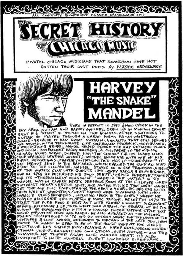 This Secret History of Chicago Music strip originally ran in 2009. - FROM THE READER ARCHIVES