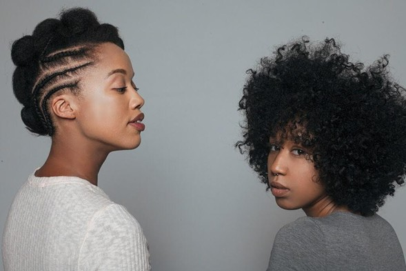 Chicagoans Lauren Ash and Zakkiyyah Najeebah host Black Girl in Om on Thu 11/17 at the Promontory as part of the Chicago Podcast Festival. - BRADLEY A. MURRAY