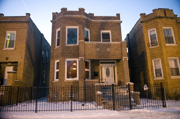 This house came out of foreclosure, was rehabbed, and put back on the market. - RICHARD A. CHAPMAN/SUN-TIMES