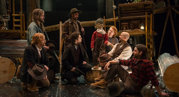 Pigpen Theatre Co.'s The Hunter and the Bear, at Writers Theatre - MICHAEL BROSILOW