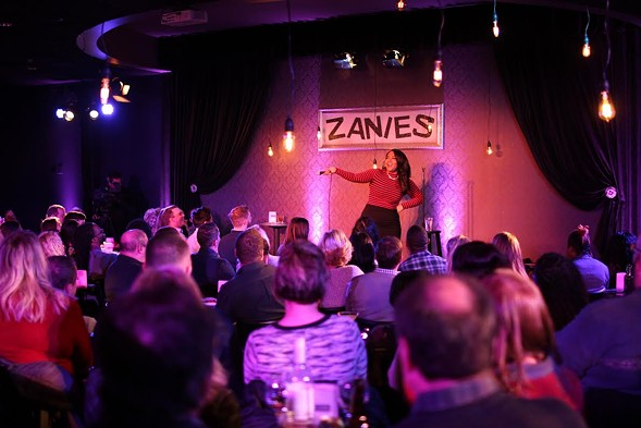 Rebecca O'Neal hosts Chicago's One Night Stand-Up at Zanies in Rosemont. - COURTESY WCIU