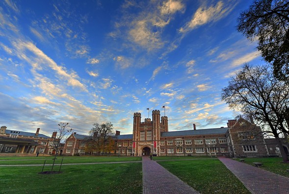 Washington University in Saint Louis recently suspended its men's soccer team. - VIA WASHINGTON UNIVERSITY FACEBOOK