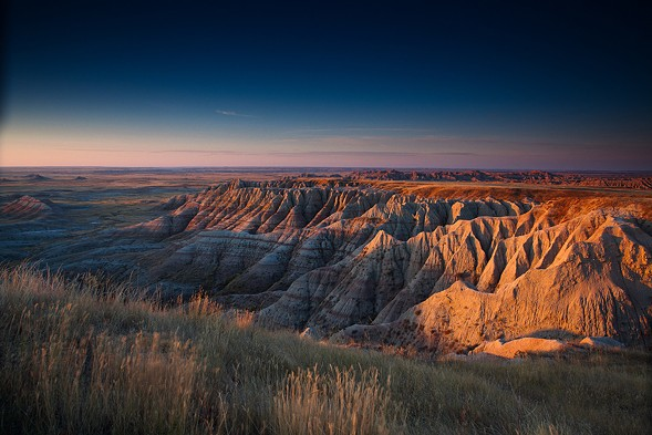 "Badlands National Park in South Dakota. The park's official Twitter feed ""went rogue"" this week. - ADAM GULKIS"