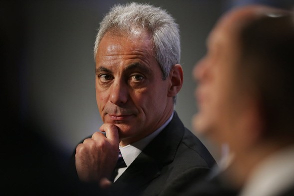Chicago Mayor Rahm Emanuel participating in a panel discussion during last year's U.S. Conference of Mayors in Washington, D.C. - PHOTO BY CHIP SOMODEVILLA/GETTY IMAGES