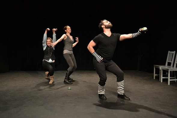 The Chicago leg of the festival takes place Tuesday and Wednesday, February 21 and 22, at the Den Theatre. - COURTESY ONE-MINUTE PLAY FESTIVAL