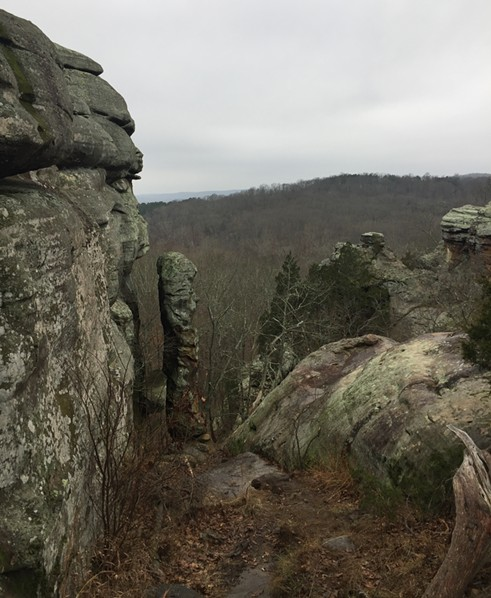The Devil's Smokestack, in Shawnee National Forest's Garden of the Gods - RYAN SMITH