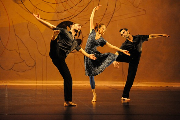 Ballet de Lorraine performs the work of Merce Cunningham at the MCA this weekend. - BERNARD PRUDHOMME