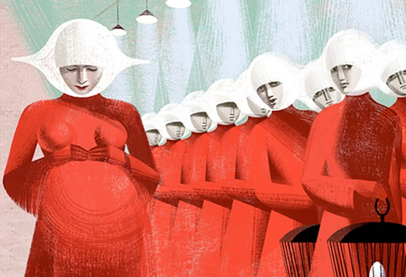 The Empty Bottle Book Club discusses Margaret Atwood's work of fiction that is starting to feel all-too-real, The Handmaid's Tale. - ANNA & ELENA BALBUSSO