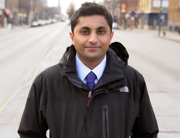 Alderman Ameya Pawar discusses what issues matter at a state level on Mon 3/6. - SUN-TIMES MEDIA