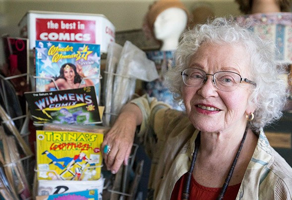 Trina Robbins discusses being a female comic artist on Thu 3/16. - JESSICA CHRISTIAN