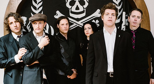 Celtic-punk band the Tossers play their annual Saint Patrick's Day show on Fri 3/17. - NATALIE O DONNELL