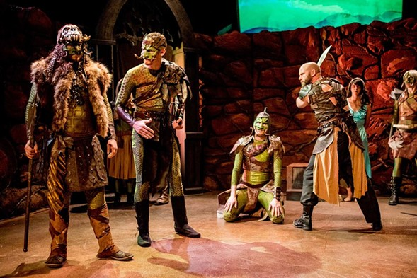 Otherworld Theatre's A Princess of Mars - COURTESY INDIE GRANT PRODUCTIONS