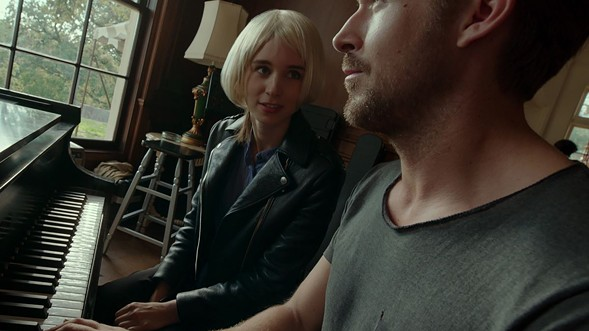 Rooney Mara and Ryan Gosling in Song to Song