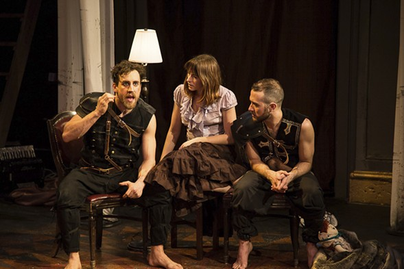 Red Tape Theatre and Walkabout Theater Company's Mother of Smoke - AUSTIN D. OIE