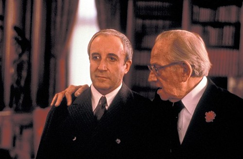 Sellers and Melvyn Douglas in Being There