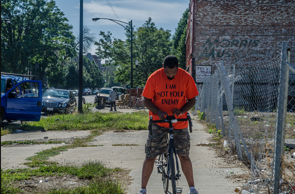 CPD issues tickets to cyclists twice as often in black neighborhoods as white, according to a recent Chicago Tribune investigation. - RUSSELL MONDY/FLICKR CREATIVE COMMONS