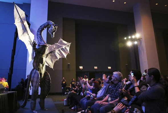 The McCormick Place turns into cosplay central this weekend during C2E2. - SUN-TIMES MEDIA