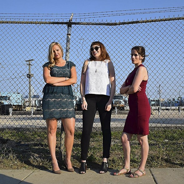 The Girl Talk hosts a special Mother Earth show on Tue 4/25. - LINZE RICE