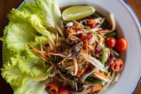 Fast-food Thai joint Immm Rice & Beyond hosts a Thai New Year party on Thu 5/4. - JAMIE RAMSAY